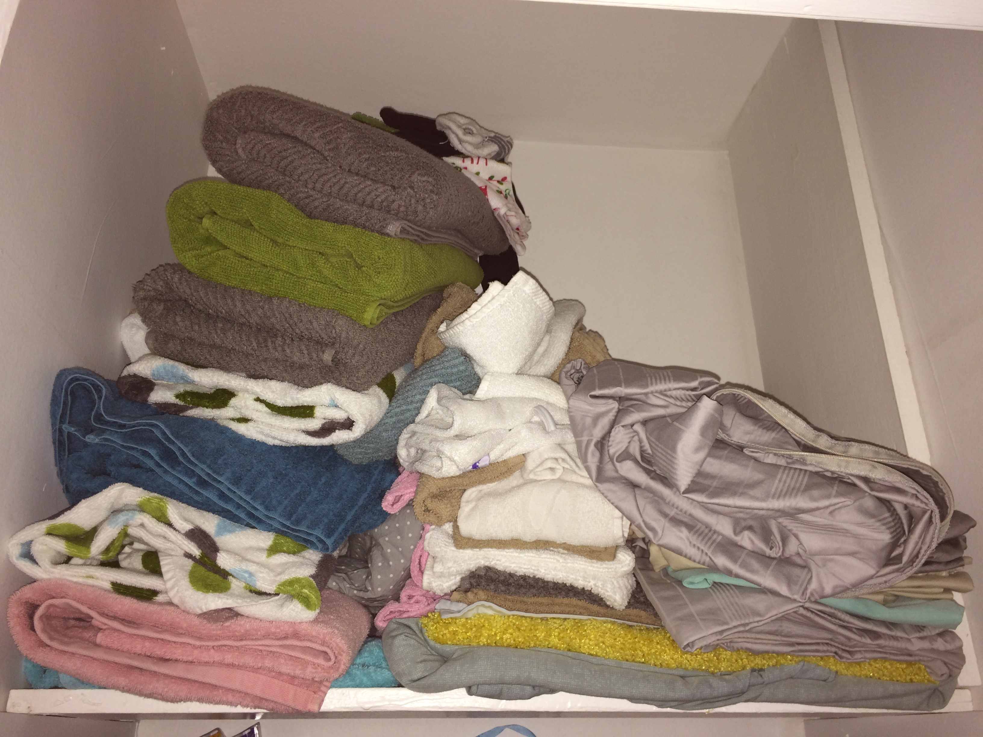 A Messy Pile Of Linens